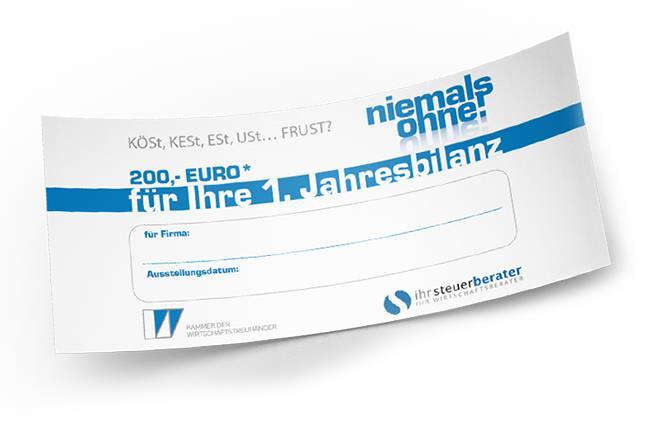 200 Euro für Gründer