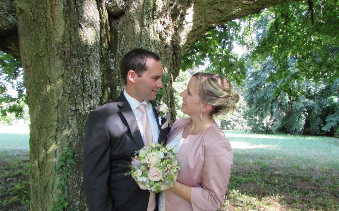 Hochzeit: Sabine Thenmayer wird Hochmeister