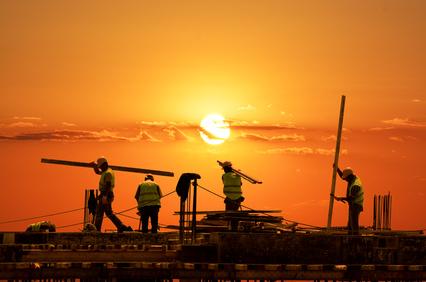 Auch Bauunternehmer ohne Dienstnehmer können auf HFU-Liste