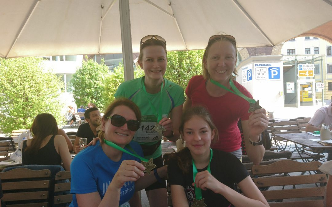 Steuerrunners erfolgreich beim Vienna-City-Marathon