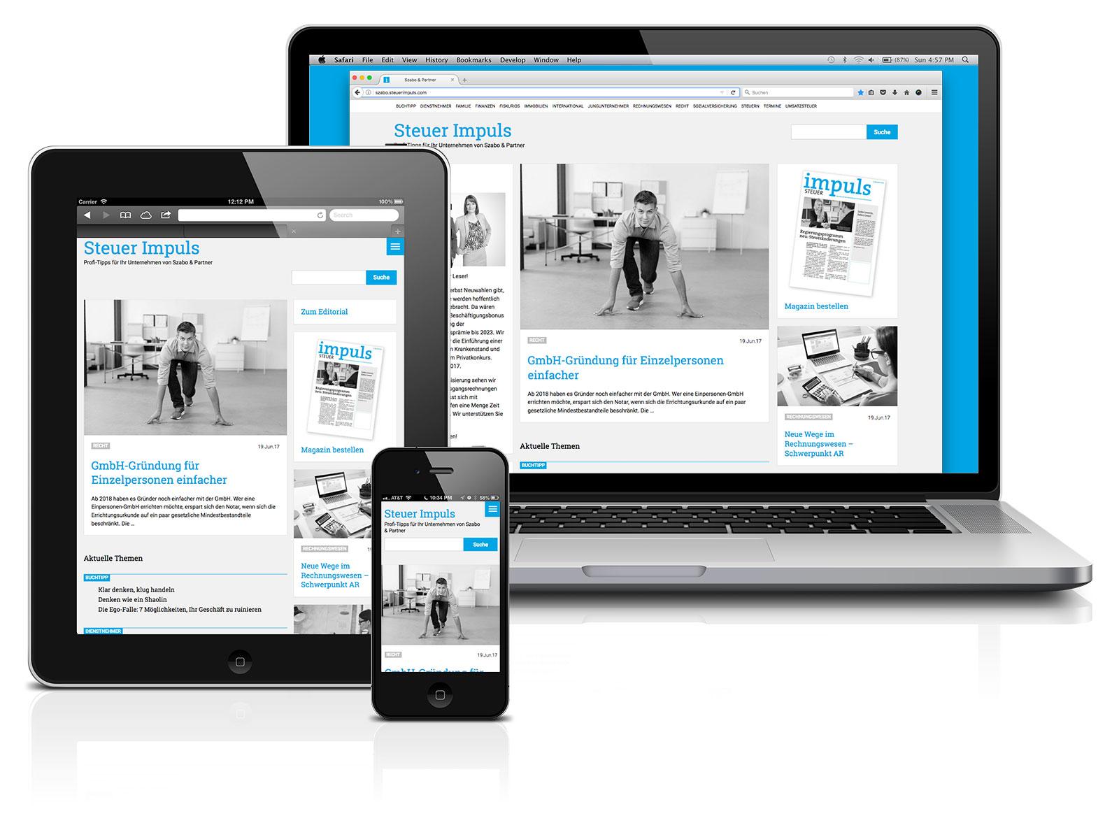 online impuls - Klientenmagazin