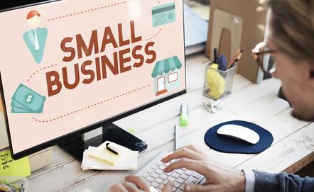 Steuerformular für Kleinbetriebe
