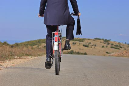 Steuerliches Fahrrad