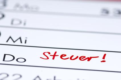 Wichtige Steuertermine im 1. Quartal 2013