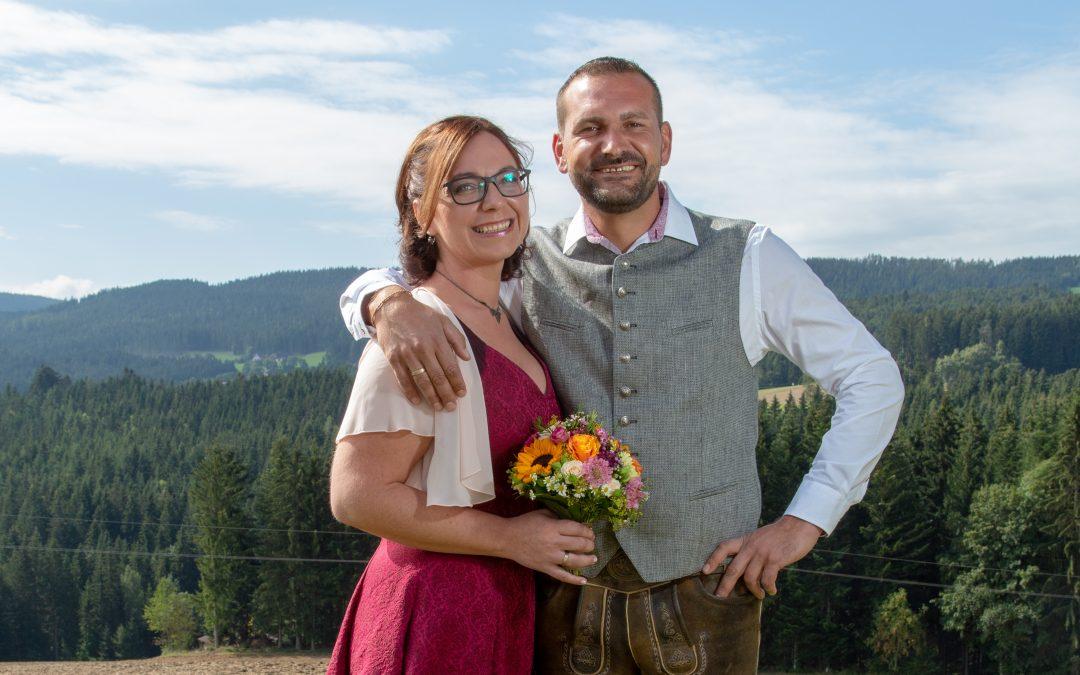 Hochzeit: Rita Pötz