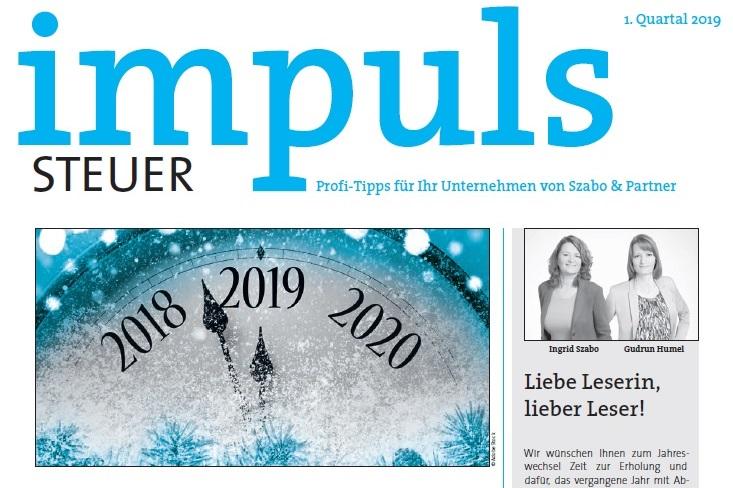 Die neue impuls-Ausgabe ist online