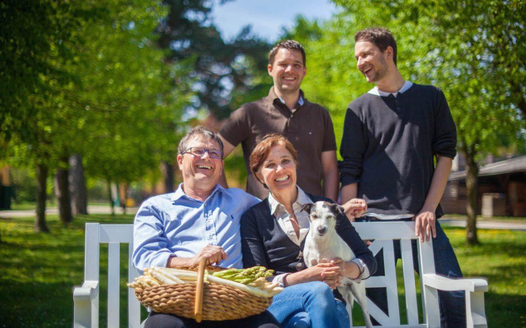 Familie Brandenstein – Feinster Biospargel aus dem Marchfeld