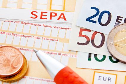 SEPA-Lastschriftmandat für Einkommensteuer-Vorauszahlungen