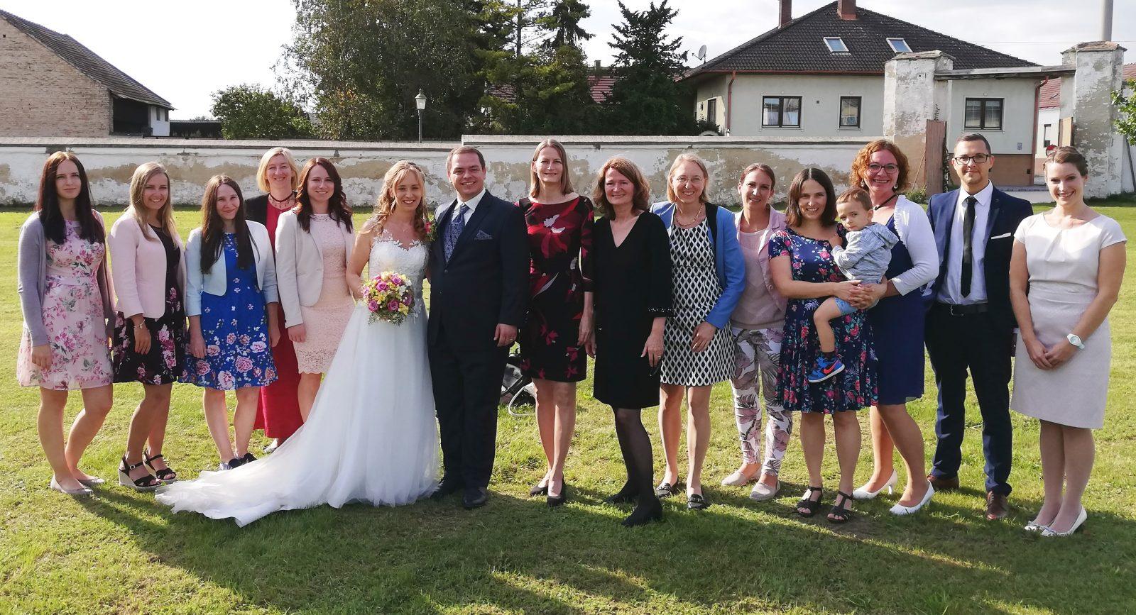 Hochzeit Frass Rath 3 - Unsere Kollegin Teresa Frass hat geheiratet