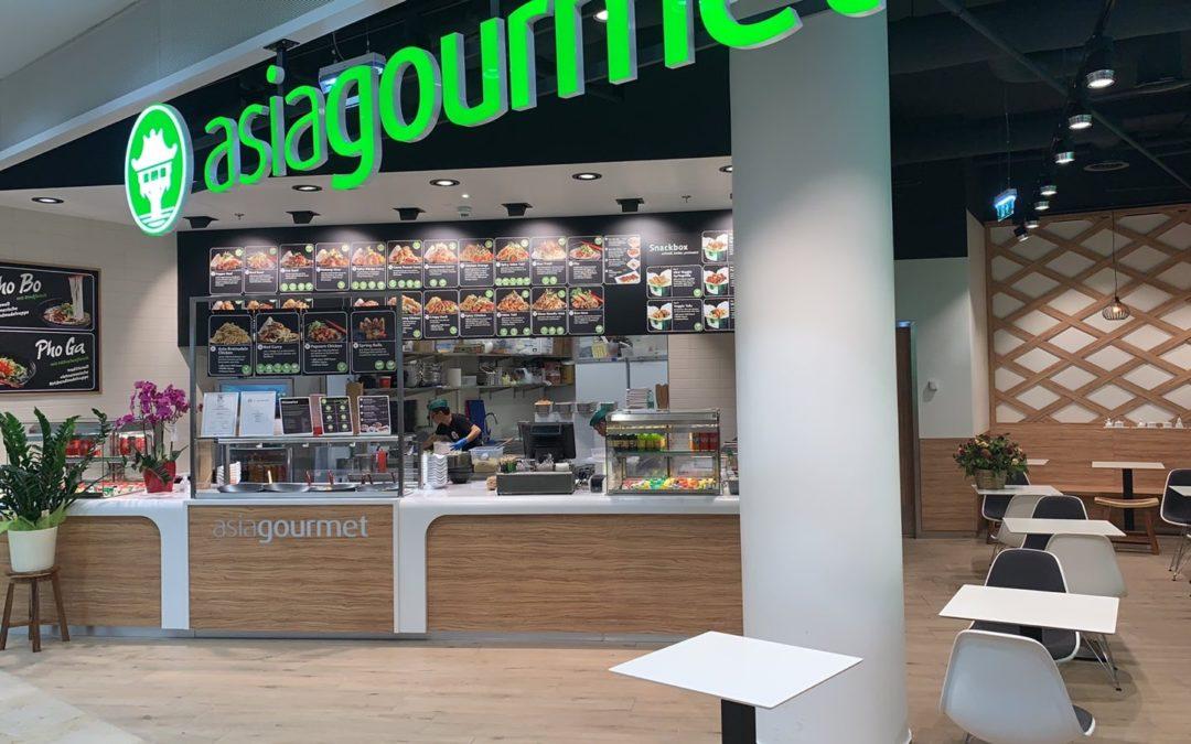 Eröffnung Asiagourmet im Donauzentrum