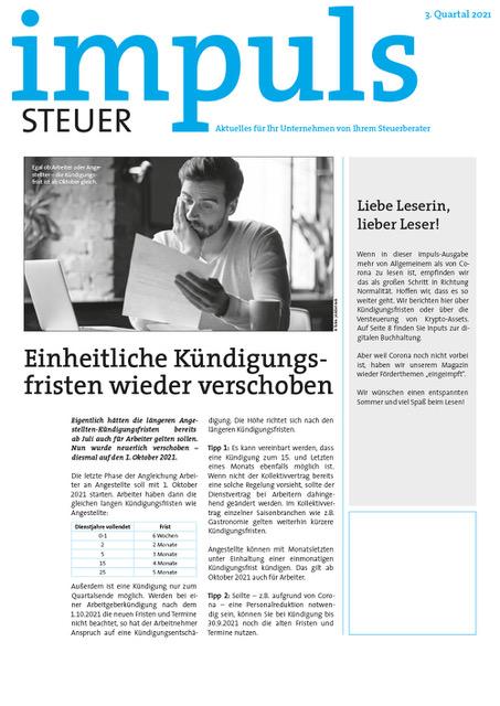 impuls 21 3 cover - Kontakt/Anfahrt